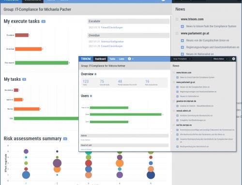 TRINOM Task – Release 1.7 – Dashboard