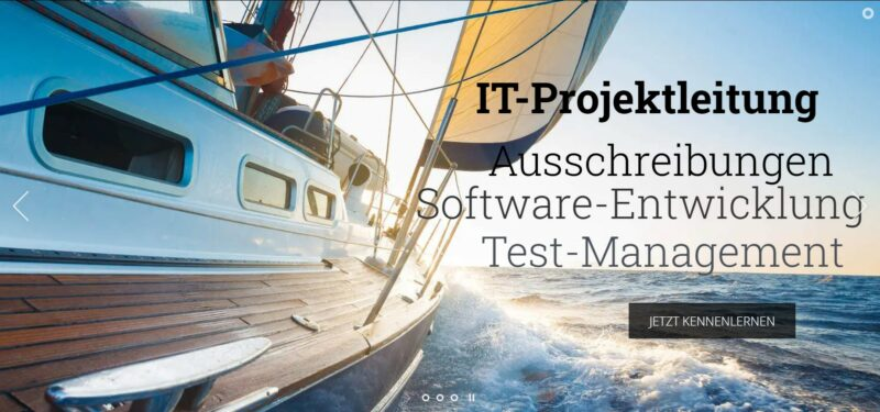Symbolbild: IT-Beratung, Projektleitung, Ausschreibung, Software-Entwicklung